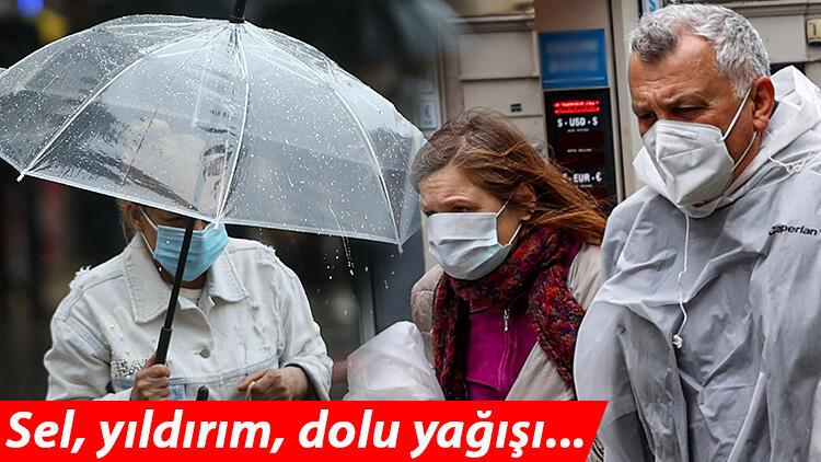 Son dakika: Meteoroloji'den İstanbul, Ankara, İzmir dahil çok sayıda kente sarı uyarı! Sağanak etkili olacak