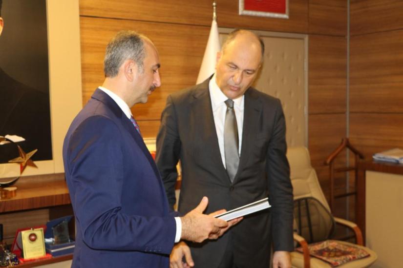Bakan Gül, İstanbul BİM Başkanı Yılmaz'ı ziyaret etti | SON TV