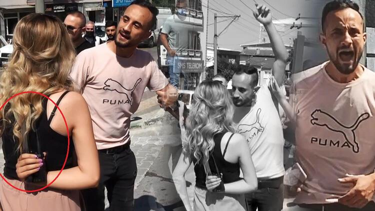 Bursa'da dehşet anları! DHA muhabirleri genç kadını kurtardı