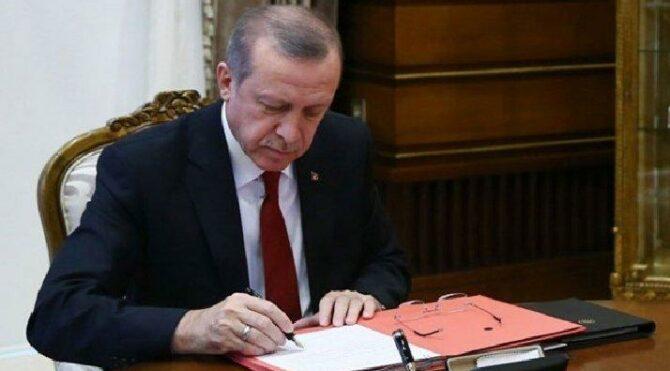 Cumhurbaşkanı Erdoğan imzaladı: Yeni atamalar yapıldı