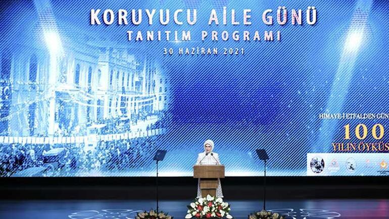 Emine Erdoğan, Koruyucu Aile Günü tanıtım programında konuştu: Kirli ellere asla toleransımız yoktur