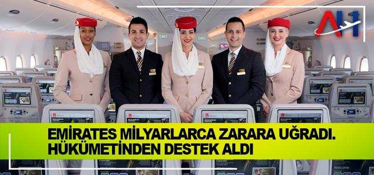 Emirates milyarlarca zarara uğradı. Dubai hükümetinden destek aldı