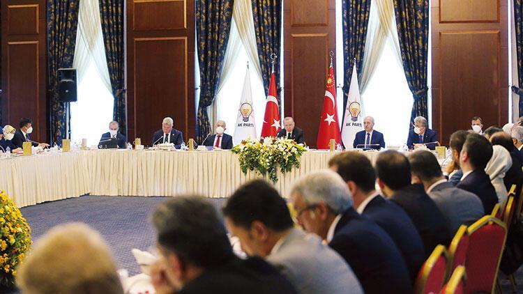 Erdoğan'dan vekillerle buluşma