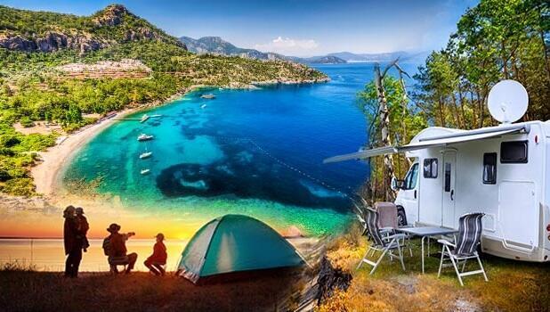 Hem deniz, hem kamp mümkün! 10 şehirden 20 uygun fiyatlı öneri...