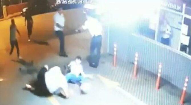 Polis memurunu sırtından bıçakladı müebbet istendi