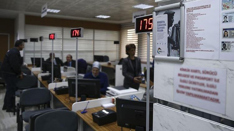 Son dakika haberi: Nüfus ve Vatandaşlık İşleri Genel Müdürlüğü'nden yoğunluk açıklaması