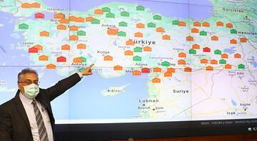 Türkiyenin 81 iline gönderilen koronavirüs aşıları anbean takip ediliyor