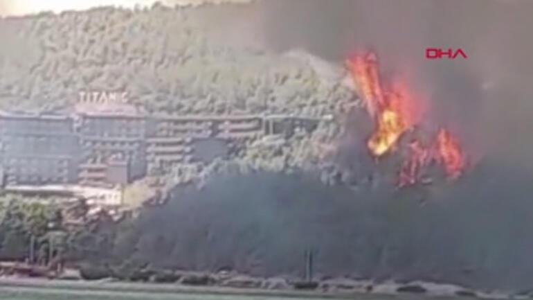 Son dakika haberi... Bodrum - Milas sınırındaki yangın kontrol altına alındı