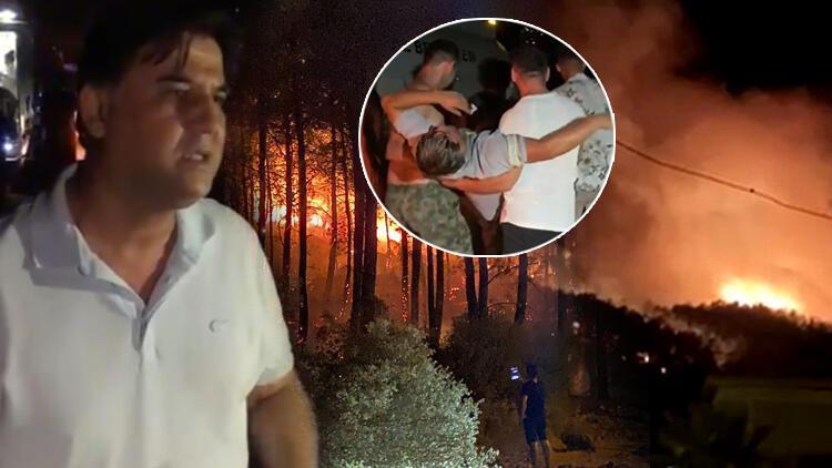 Son dakika haberi: Muğla'nın Fethiye ilçesinde korkutan yangın! Molotof kokteyli atıldığı iddiası