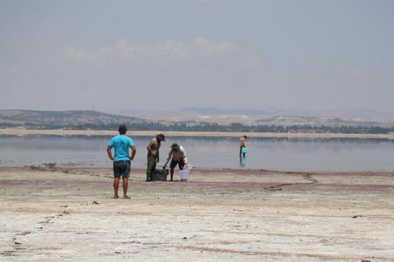 Flamingolar uğramıyor Habitat kayboluyor... Acıgöl kuruyor