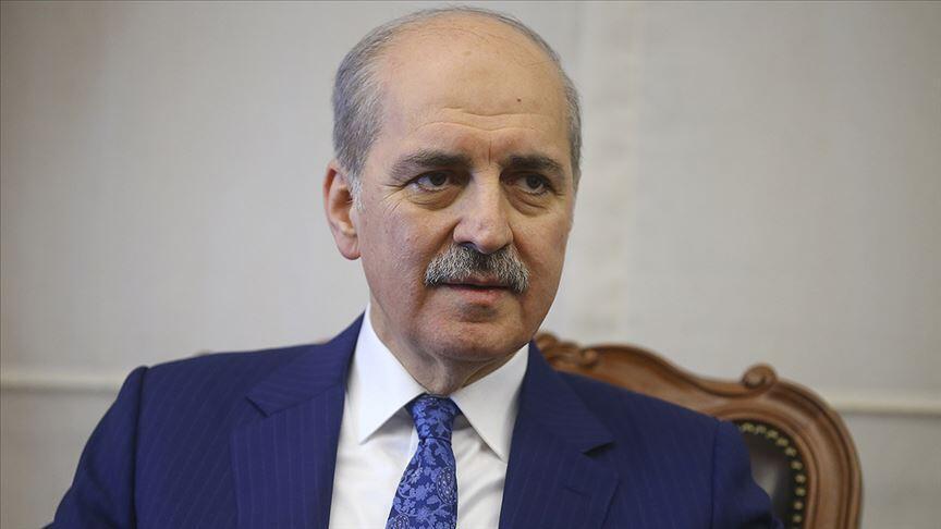 Kurtulmuş başkanlığındaki AK Parti heyeti, YAP Genel Başkanvekili Budagov ile görüştü