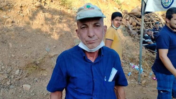 Marmaris'teki yangında hayatını kaybeden Şahin Akdemir'in babası: Canını vatan için feda etti