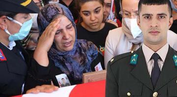 Şehit Piyade Teğmen Ali Rıza Özcücük gözyaşlarıyla son yolculuğuna uğurlandı