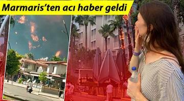 Marmariste de orman yangını başladı 5 dakikada yayıldı, evler ve oteller tehdit altında