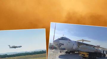 MSBden Rusyadan gelen yangın uçağı ile ilgili açıklama