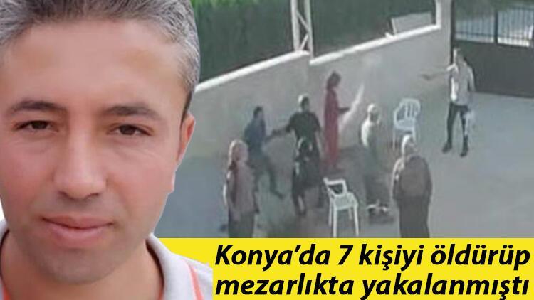 Son dakika... Konya'da Dedeoğulları ailesinden 7 kişiyi öldüren ve mezarlıkta yakalanan Mehmet Altun ilk ifadesi ortaya çıktı