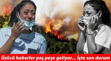Yangında son durum... Alevler mahalleyi sardı... İşte orman yangınının devam ettiği yerler
