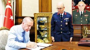 YAŞ kararları... Kara Kuvvetleri'nde nöbet değişimi