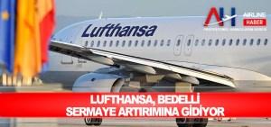 Lufthansa, bedelli sermaye artırımına gidiyor