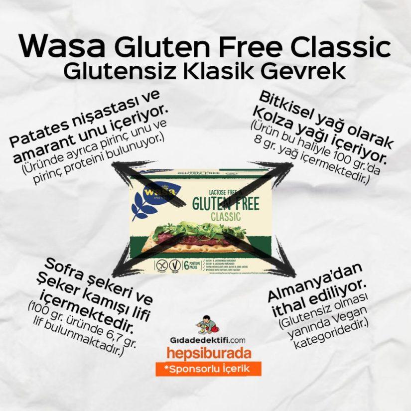 Glutensiz ürün incelemelerinde bugün; Barilla Fusilli, Wasa Classic ve Dr Oetker Çikolatalı Sos #HepsiBurada - Gıda Dedektifi