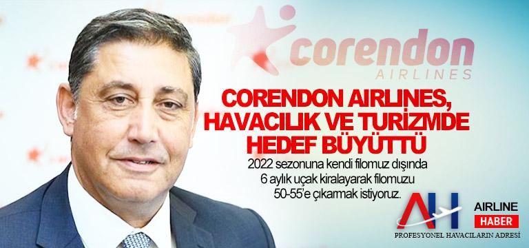 Corendon Airlines, bu yıl 1 milyar Euro ciro hedefliyor