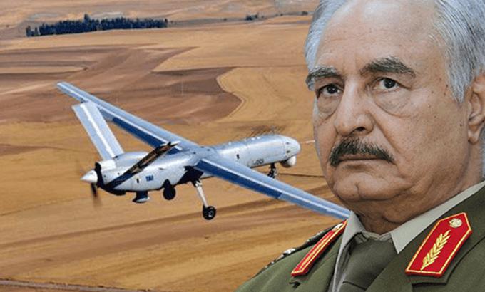 Flaş: Libya Ordusu Türk İHA'sı düşürdü