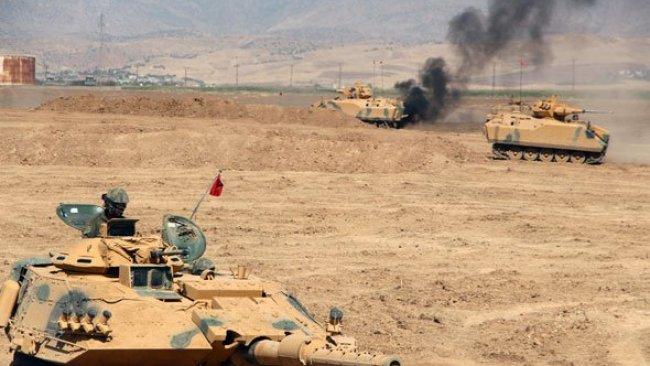 TSK'ya ait zırhlı araca saldırı