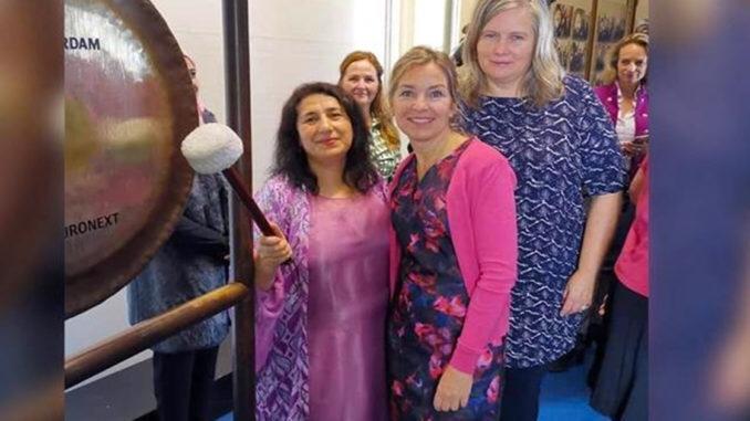 Bir Kürt kadın Hollanda Kraliyet Nişanı'na layık görüldü