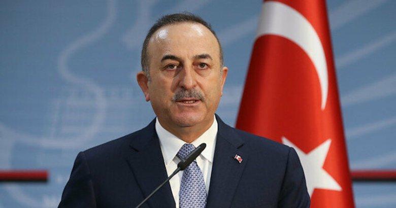 İspanya'da çıkan 'Türkiye el koydu' haberleriyle ilgili Çavuşoğlu'ndan Son dakika açıklaması