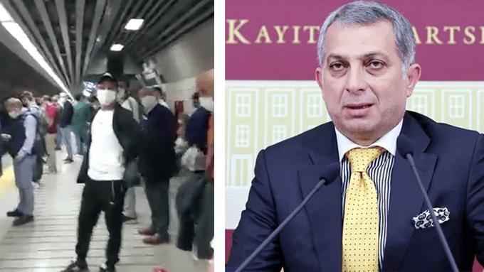 AKP'li Metin Külünk, Marmaray'ı İBB yönetiyor sandı, AKP'yi yerden yere vurdu!
