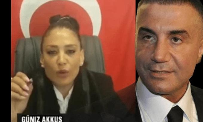 'Hanımağa' lakaplı Güniz Akkuş'tan Sedat Peker'e tehdit: Sana 10 gün müddet veriyorum