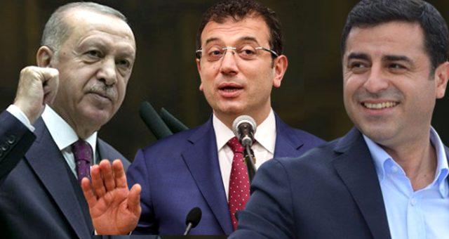 AKP'ye yakın Optimar'ın Anketinde Demirtaş sürprizi