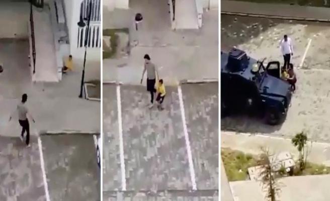 Nusaybin'de polis çocukları havaya ateş açarak kovaladı: Engelli çocuğu tartakladı