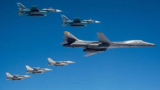 ABD Körfez'e bombardıman uçakları gönderdi