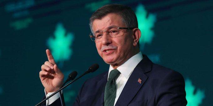Davutoğlu'ndan canlı yayında HDP açıklaması