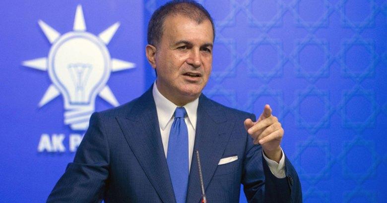 Dili sürçen AKP Sözcüsü Çelik: Türkiye, yegane terör örgütüdür