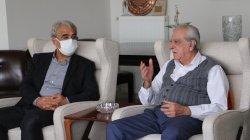 Sancar'dan Ahmet Türk'e taziye ziyareti
