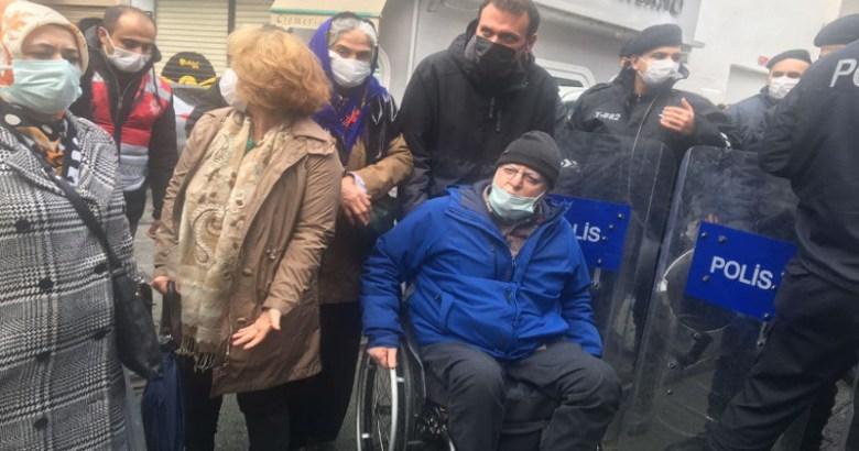 HDP'nin Taksim eylemine polis engeli : Çok sayıda kişi gözaltında