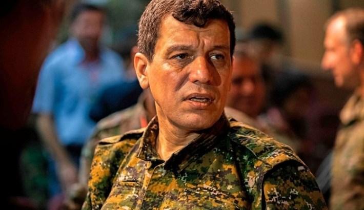 ABD'li General'den Mazlum Kobani'ye ziyaret