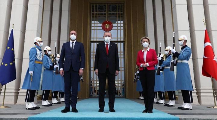 AB Liderleri Erdoğan'la görüştü: AİHM'in Kavala ve Demirtaş'la ilgili kararları…