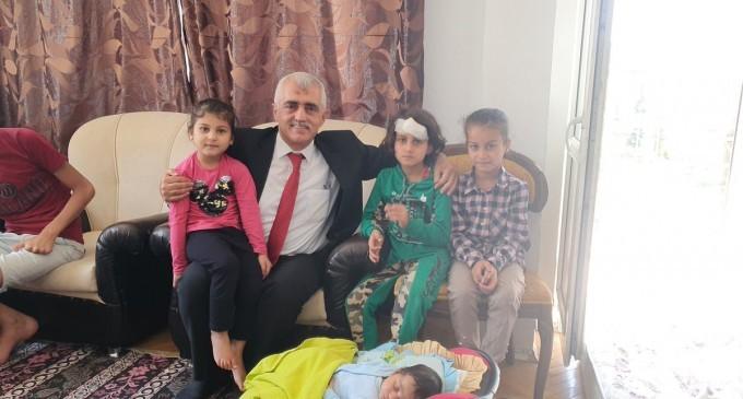 HDP'li Gergerlioğlu'ndan Suriyeli küçük İbrahim'in ailesine ziyaret