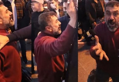 Kağıt toplayan vatandaş, telefonunun fiyatını soran vatandaşa isyan etti