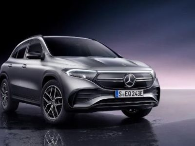 Mercedes Benz SUV EQA Elektrikli Aracını Sundu