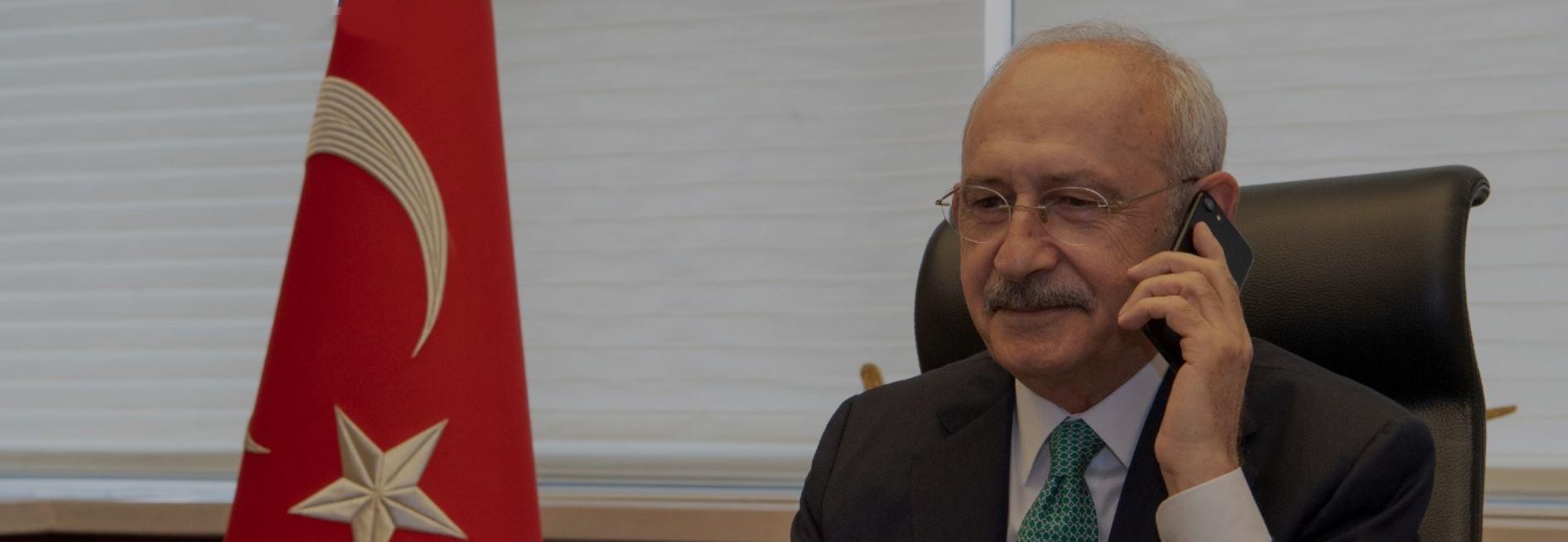 CHP Genel Başkanından Liderlere Telefonla Bayram Tebriği
