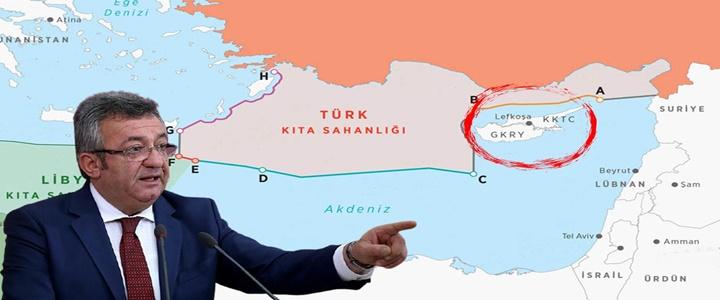AB Doğu Akdeniz'de Sadece Güney Kıbrıs Rum Yönetimi'nin Olmadığını ya Öğrenecek ya Öğreteceğiz