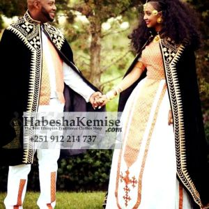 Anbessa Anbessit Ethiopian Traditional Dress Wedding-42