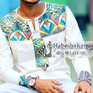 Artistic Abel Ethiopian Traditional Dress Mens-6