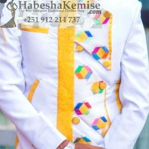 Destegna Ethiopian Traditional Dress Mens-4