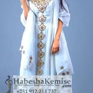 Empress Menen Ethiopian Traditional Clothes-71