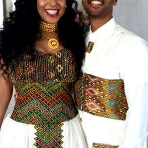 Ethio Exquisite Ethiopian Traditional Dress Wedding-29